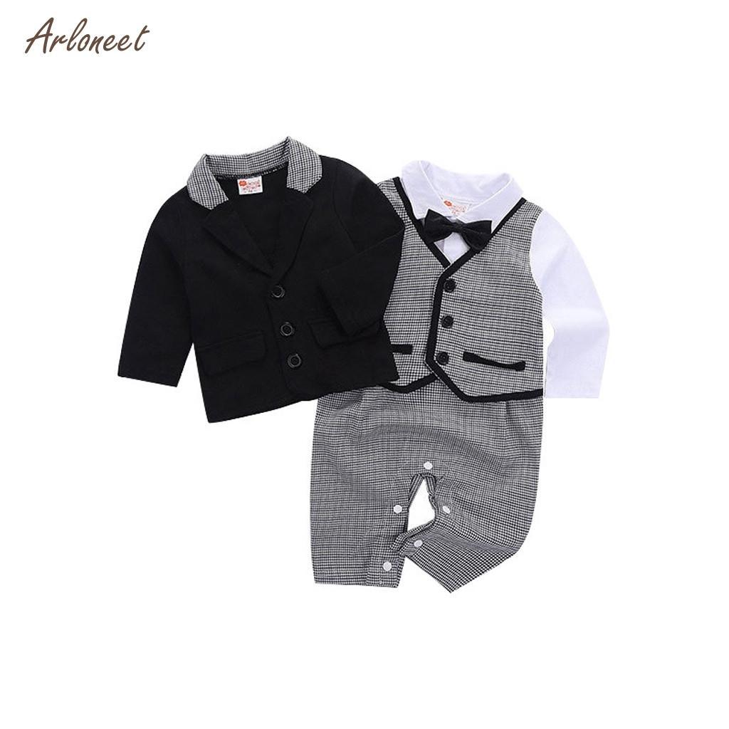 Acquista ARLONEET 2019 Vestiti Neonati Baby Neonato Tuta Di Cotone Bambini  Vestiti Bambini Bambini Set Di Abbigliamento Da Uomo Di Natale A  38.07 Dal  ... be9835906a1