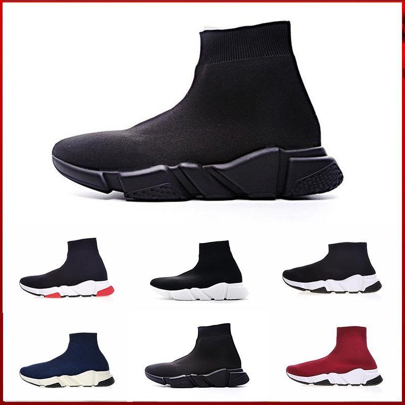 Adidas balenciaga Zapatillas de deporte Speed Trainer Zapatillas de deporte de alta calidad Zapatillas de deporte Speed Trainer Zapatillas