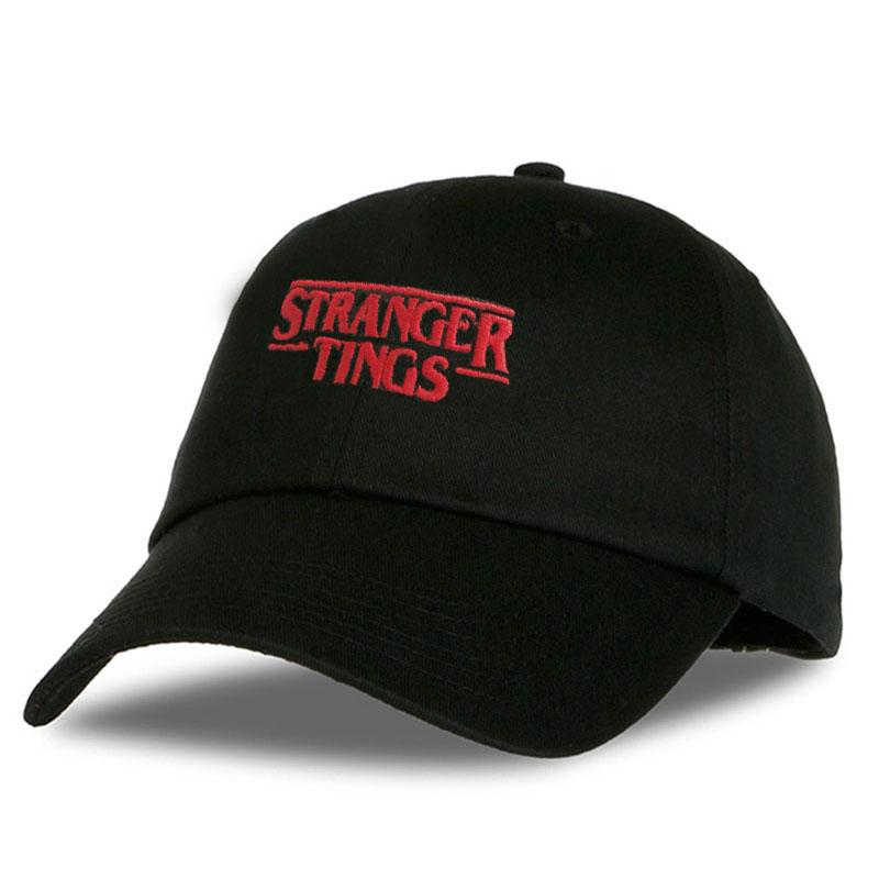Drop Shipping Stranger Things Letter Embroidery Baseball Cap Women Snapback  Hat Adjustable Men Fashion Dad Hats Wholesale Beanies Kangol From  Ericgordon 609e95f1c61e