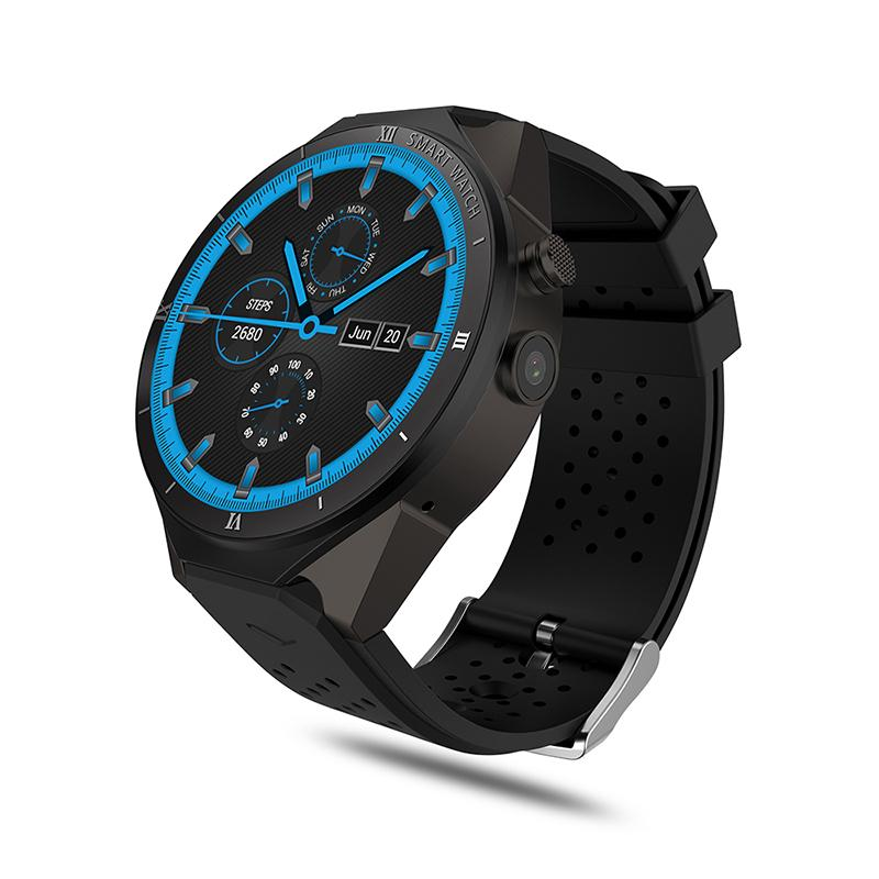 Smart Watch Men MTK6580 3G Smartwatch 1GB 16GB Heart Rate Monitor GPS with 2MP Camera for huawei watch connected android