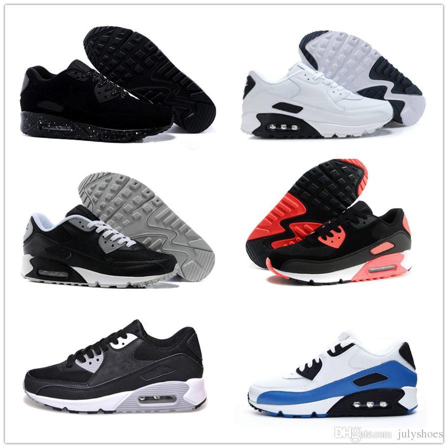 nike air max airmax 90 2019 zapatos de zapatillas de deporte baratos para hombres Clásicos 90 zapatos para correr de hombre Venta al por mayor Envío