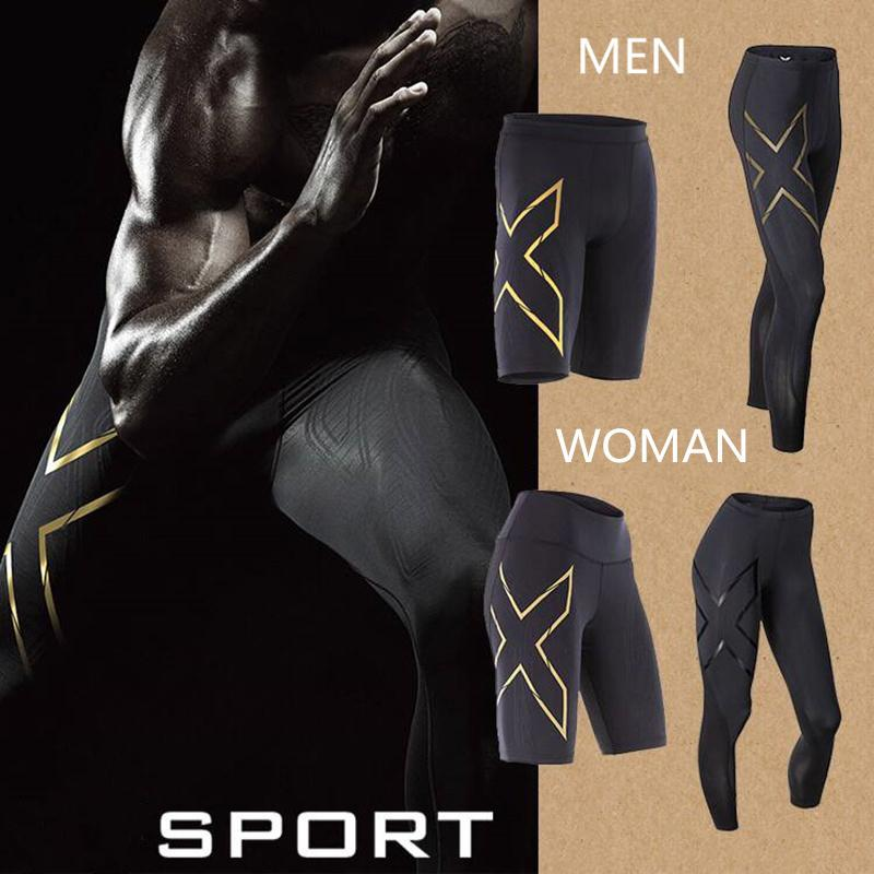 2018 Brand Clothing Men's Compression Short Board Bermuda Men's Short Paragraph Quick-drying 3d24 Hours Spot X2u Trousers Mma Y19042005