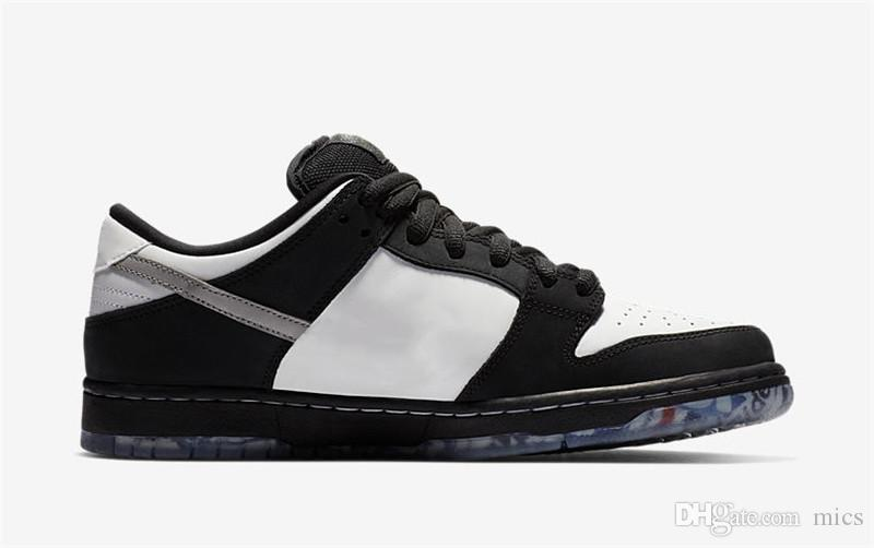 huge selection of e5616 c87b1 Vestiti On Line 2019 SB Dunk Low Staple Panda Pigeon Pro OG QS Scarpe Da  Pallacanestro NERO BIANCO VERDE GUSTO Mens Sneakers Sport BV1310 013 Con  Scatola 39 ...