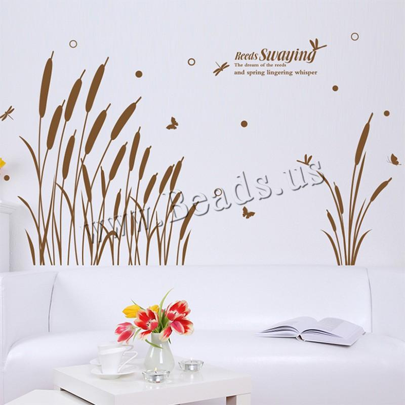 wall stickers & decals pvc plastic adhesive & with letter pattern