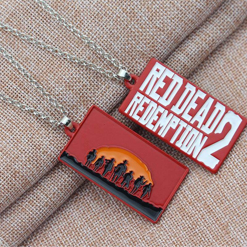 Costume Props New Game Red Dead Redemption 2 Keychain Metal Key Ring Chain 3d Gun For Men Car Women Bag Jewelry Souvenir Chaveiro Llaveros Costumes & Accessories