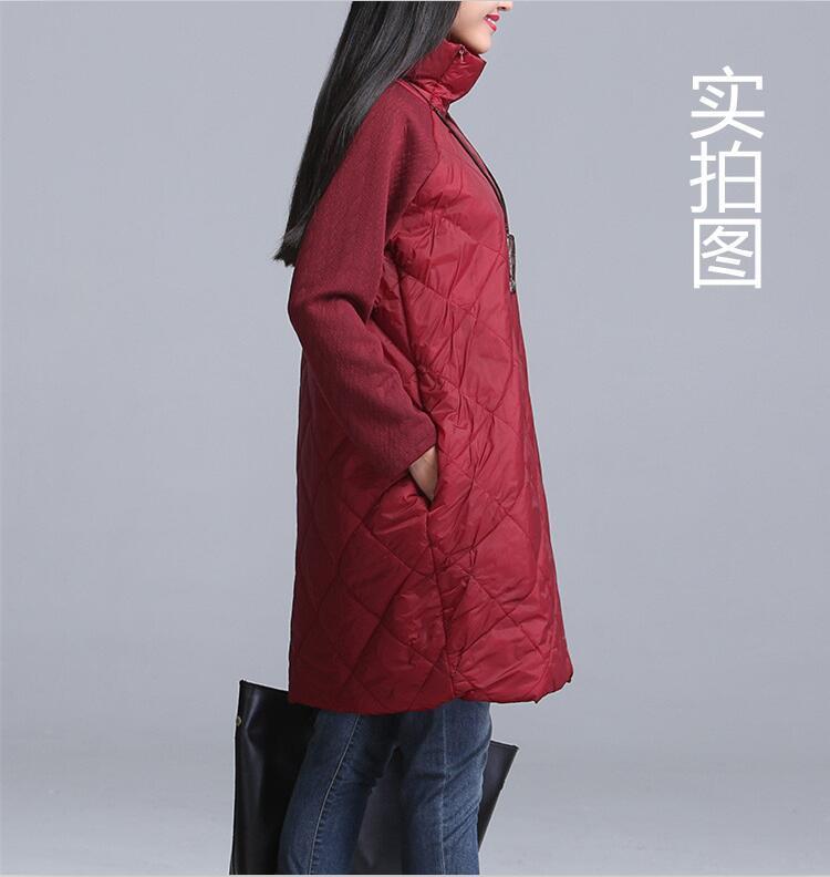 2018 Plus Size Autumn Winter Women Dress M- 5XL 6XL 7XL Turtleneck Casual Loose Patchwork Robe Cotton Black Gray Red Vestidos