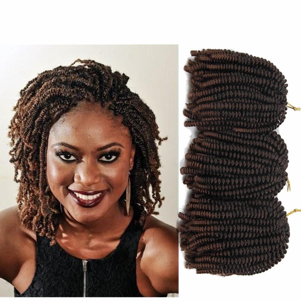 2019 30strandspack 8inch Afro Hair Nubian Kinky Nubian Twist Braid