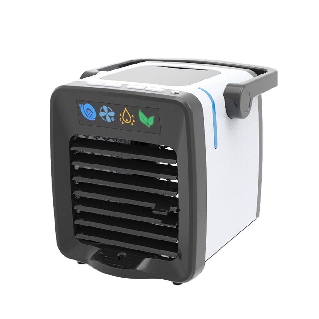HIPERDEAL New Aire Cooler USB Charging Mini Portable Air Conditioning Fan Home Refrigerator Cooler Desk Fans 19Jul04