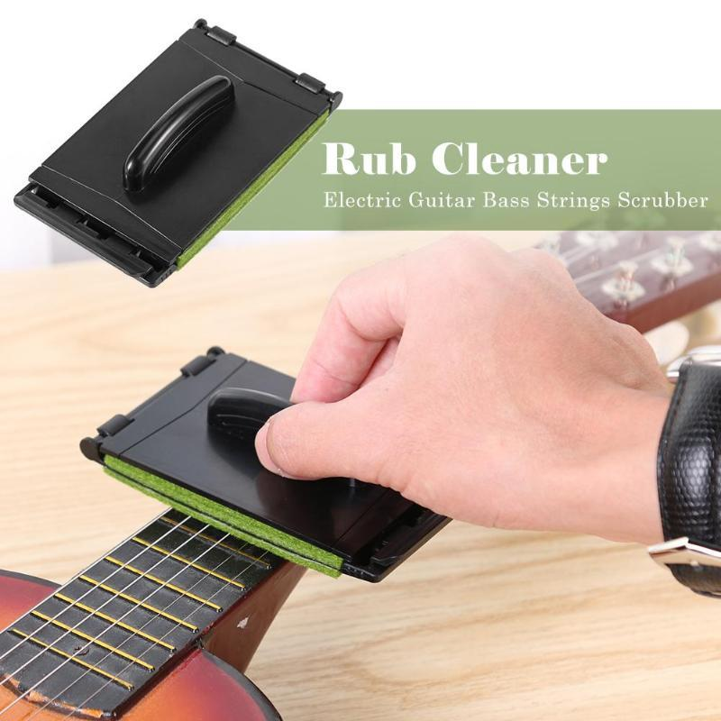 Supply Electric Guitar Bass Strings Scrubber Fingerboard Rub Cleaning Tool Maintenance Care Bass Cleaner Sports & Entertainment