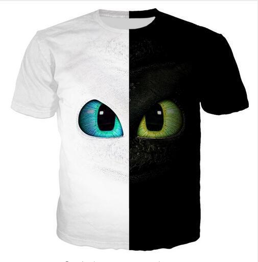 Compre El Más Nuevo Diseño Para Mujer Hombre Negro Blanco Ojos