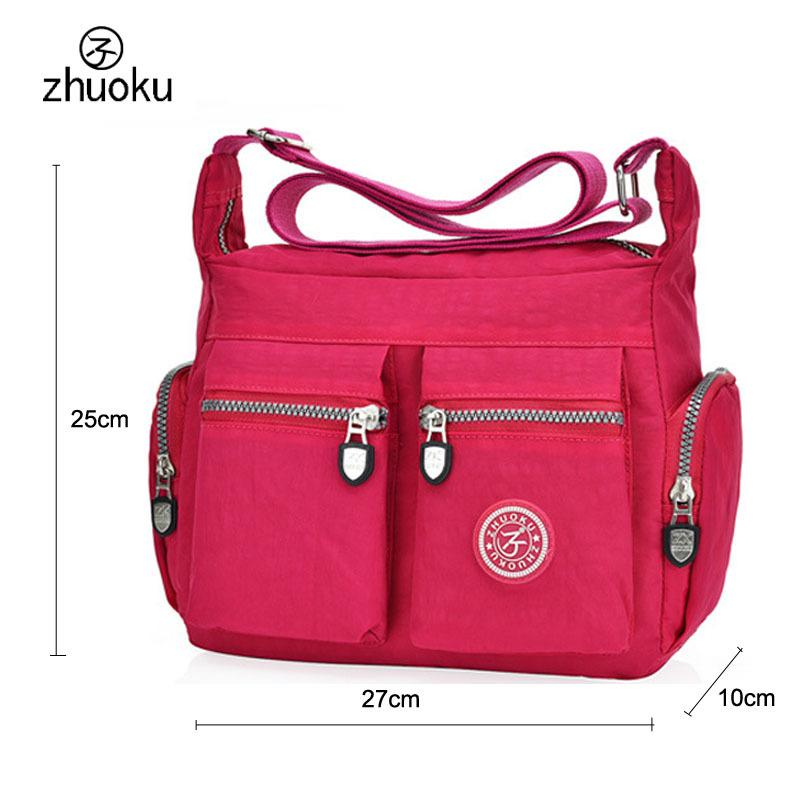 2299aa368e Designer Waterproof Nylon Women Messenger Bags Casual Clutch Carteira  Vintage Hobos Ladies Handbag Female Crossbody Bags Shoulder Bags Cheap  Purses Handbags ...