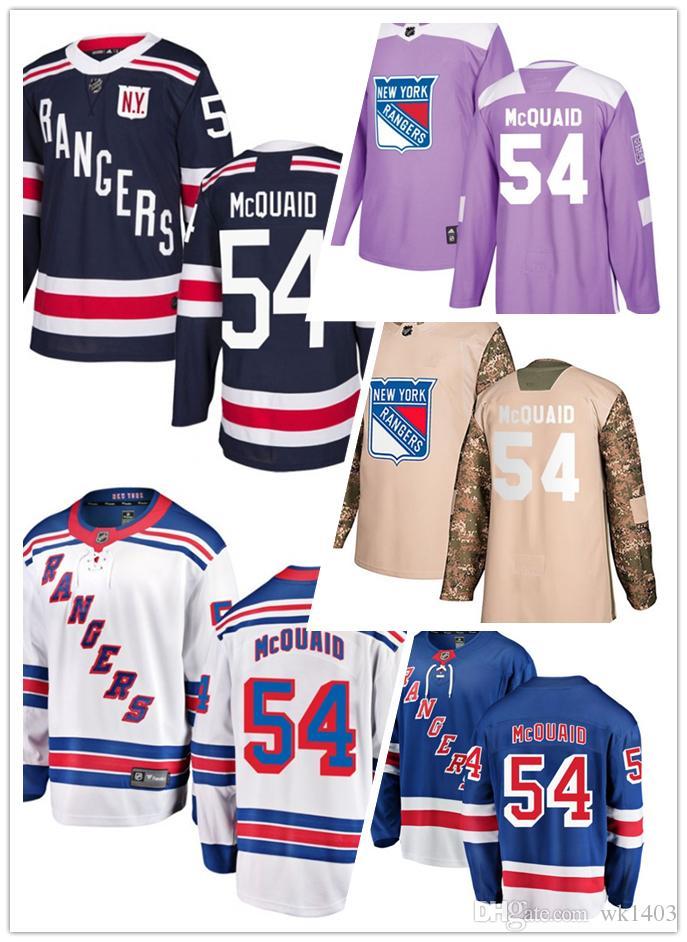 7d5063cb2 2019 New York Ranger Jerseys  54 Adam McQuaid Jersey Hockey Men Women Youth  White Navy Blue Home Away Stiched Fanatics Winter Classic Jerseys From  Wk1403