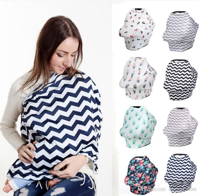 f465240b76db2 Nursing Covers Baby Car Seat Cover Nursing Breastfeeding Privacy Cover  Breast Feeding Scarf Baby Scarf 21 Designs DHW2294 Gastrostomy Tube Feeding  Baby ...