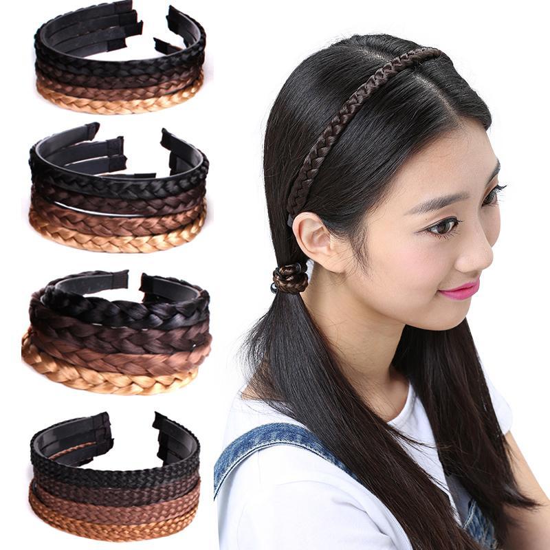 Hair Wig Accessories New Hot Headband Fashion Creative Women Hair  Accessories Hairpiece Korean Braids Girls Headwear Accessories For Hair  Bows Hair Bows And ... 848dc7c598