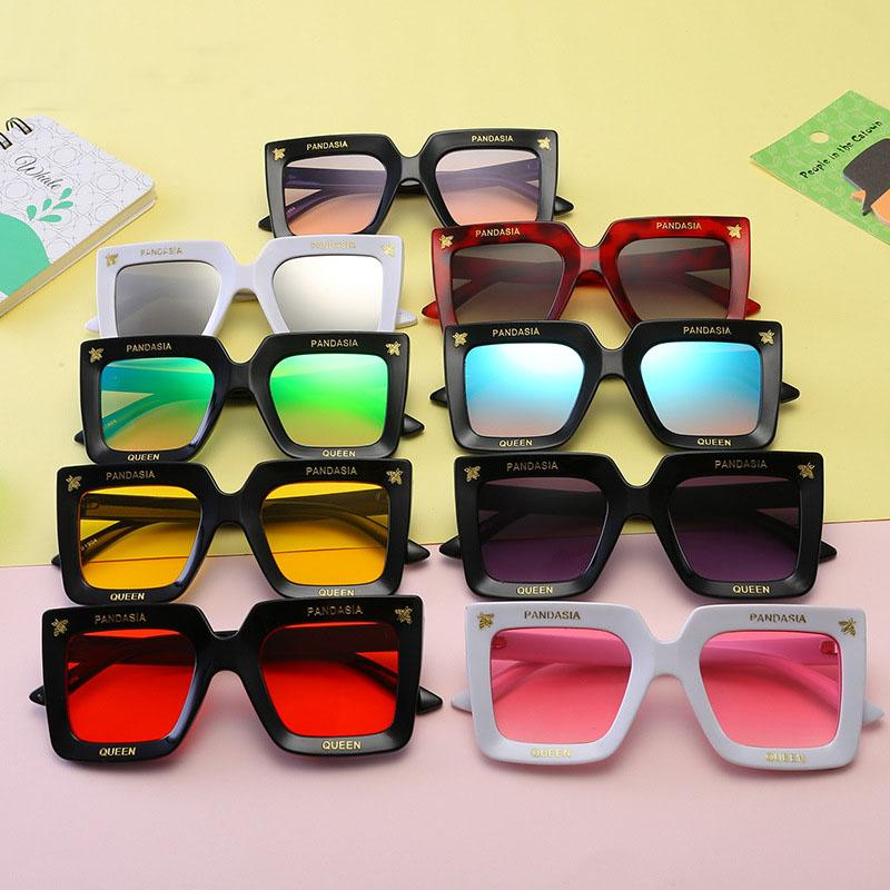 4a57a0110fc 2019 Fashion Children Square Sunglasses 2019 Summer Little Bee Glasses  Decorative Beach Sunshade Products Kids Anti UV Glasses B11 From  Fashion house