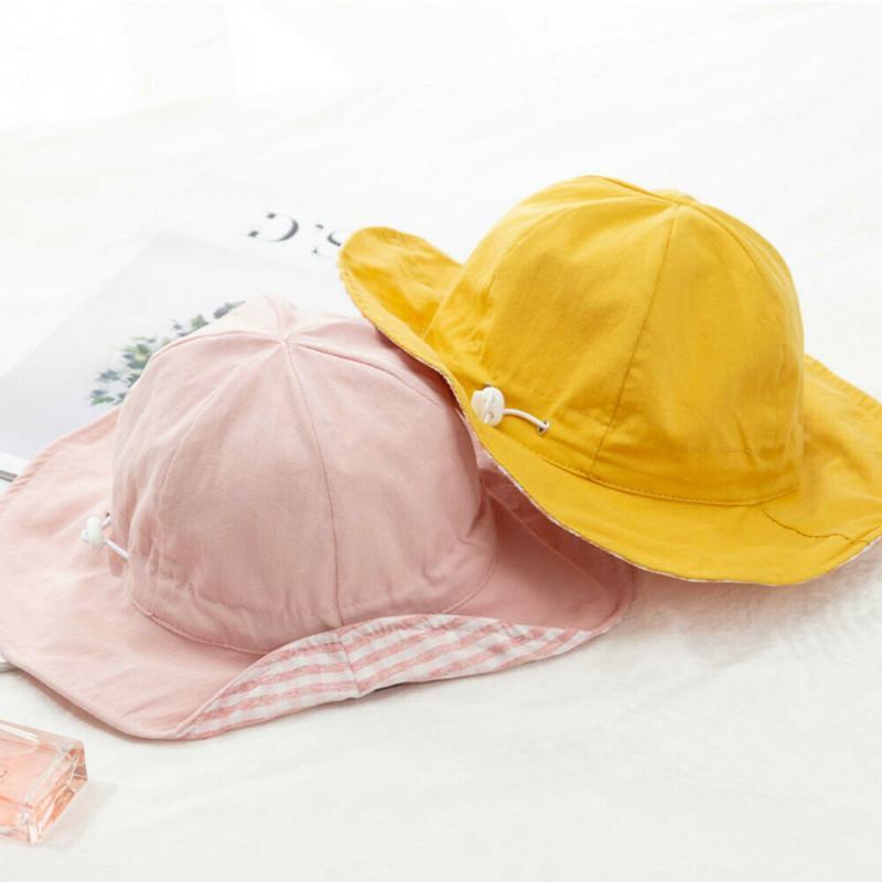 33ccb39a 2019 Toddler Baby Kids Girls Summer Sun Cap Outdoor Lovely Sun Hat ...