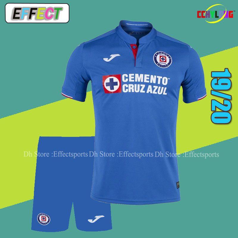 836dd86e95f 2019 2019 Mexico Club Cruz Azul Men Kits Soccer Jersey LIGA MX 18/19/20  NAUL Tigrs UNAM 2018 Club America Chivas Pachuca Adult Football Sets From  Firesport, ...