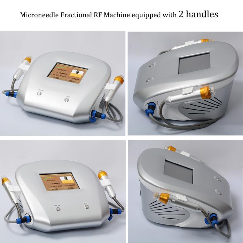 Micro INGLE RF Машина Фракционные Радиочастотные Облески Облицовочные Оценка Удаление морщин Микронеда Степень Медсестра Система