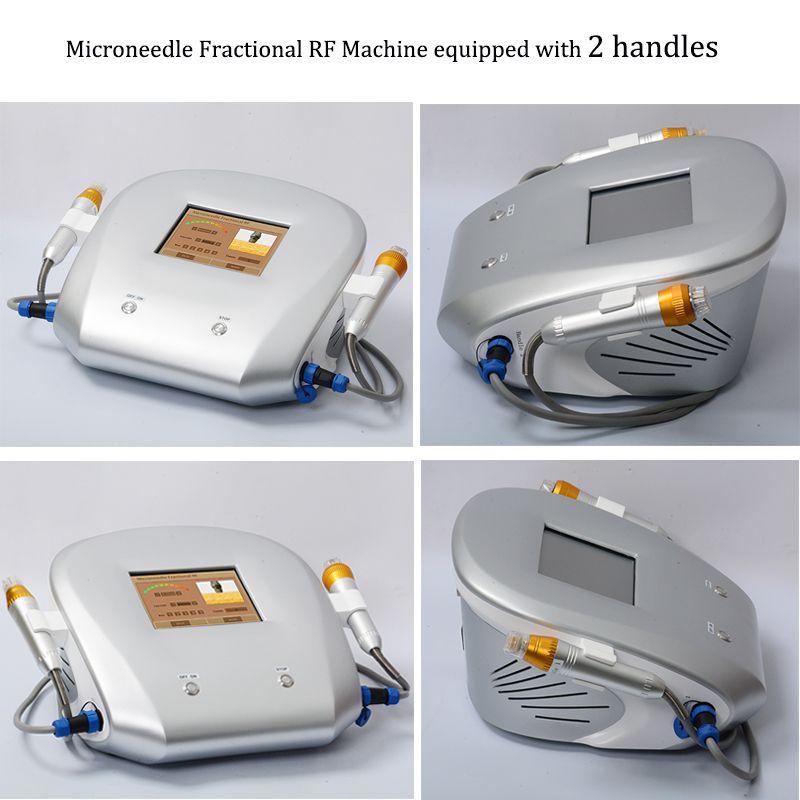 Thermage aguja micro máquina de microagujas portátil fraccional rf piel rejuvenecimiento belleza máquina thermage equipo de arrugas rf