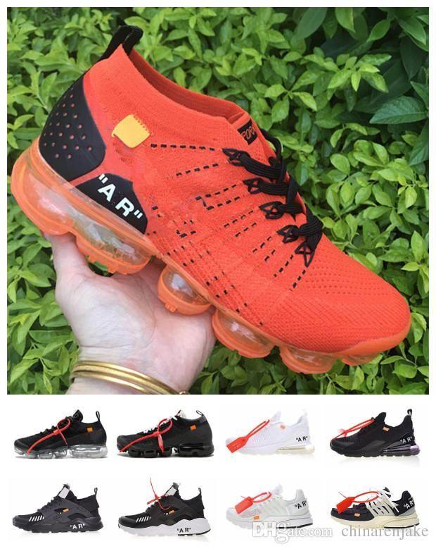 check out deadf eb5a9 Acheter Nike Air Vapormax 2018 Nouveau Huarache Off Presto Chaussures De  Course Hommes Femmes 2.0 Moc Fk Designer Max Air Triple Blanc Noir Limité  Respirez ...