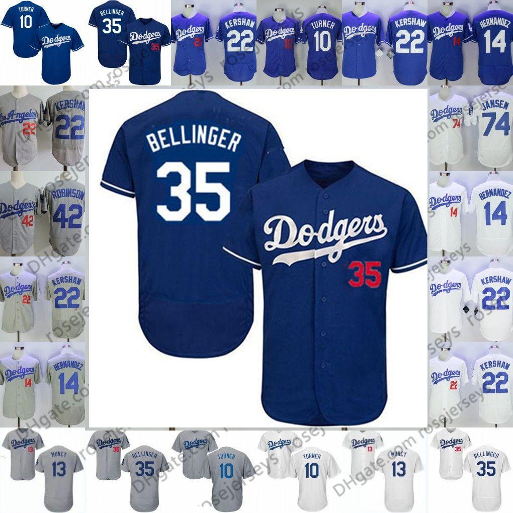 brand new 0265d 3c696 2019 Dodgers Jerseys Los Angeles #3 Chris Taylor 11 AJ Pollock 13 Max Muncy  17 Joe Kelly 21 Walker Buehler 55 Russell Martin