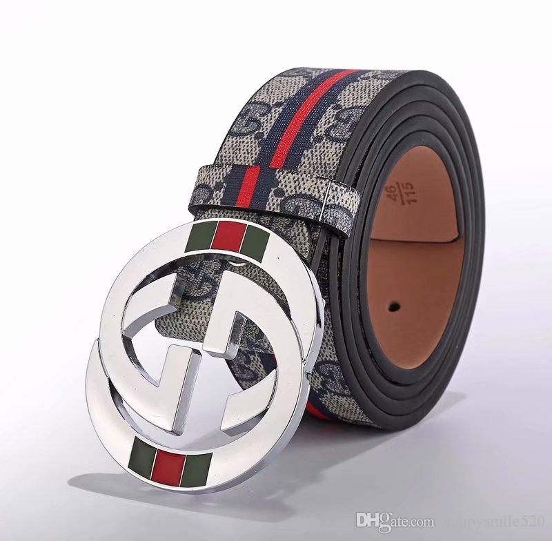 Real Calfskin ADJUSTABLE GANCINI BELT REVERSIBLE Red Green Authentic Official Belt