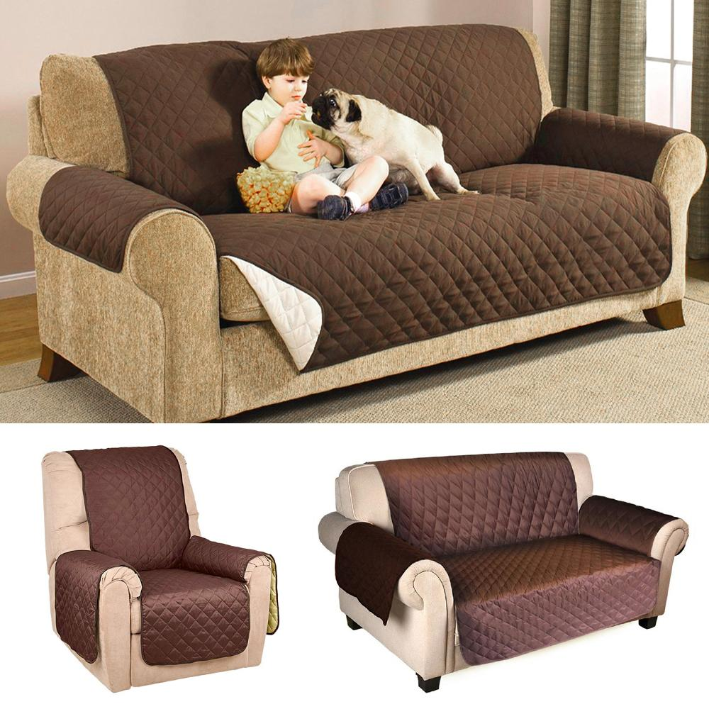 Fabulous Sofa Cover Protector For Kids Dog Cat Pets Reversible Furniture Loveseat Waterproof Seater Chair Covers Frankydiablos Diy Chair Ideas Frankydiabloscom