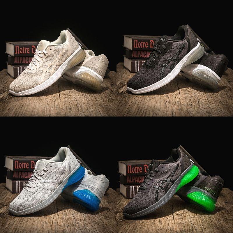 buy popular 767f0 89775 2019 Asics Asics Gel KENUN Women Men Running Shoes Original Cheap Jogging  Sneakers Trainers Sports Designer Shoes Size 36 40 From Strive1616, ...