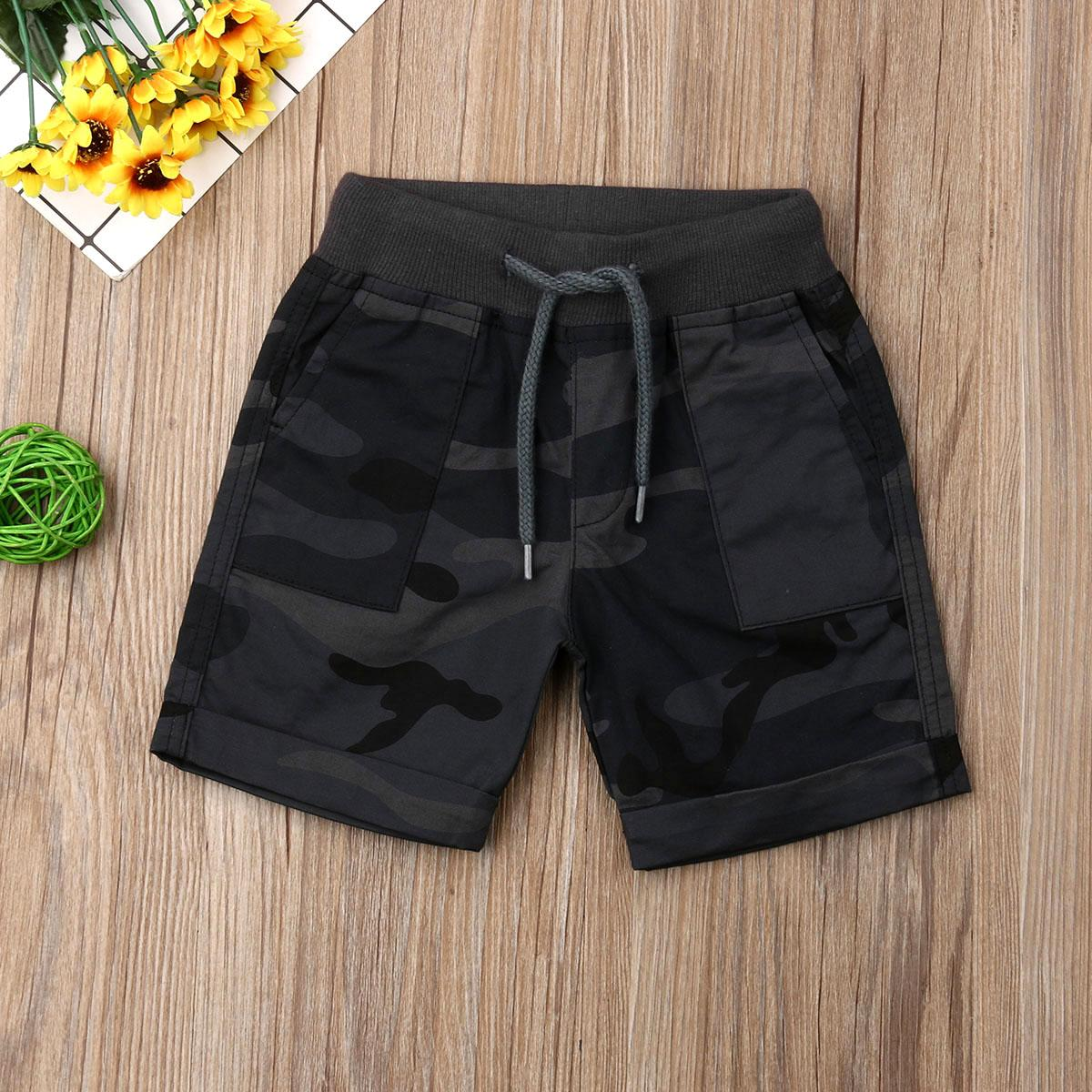 1-6Years Newborn Kid Baby Boys Casual Pants Shorts Bottoms Trousers Sportswear Clothes