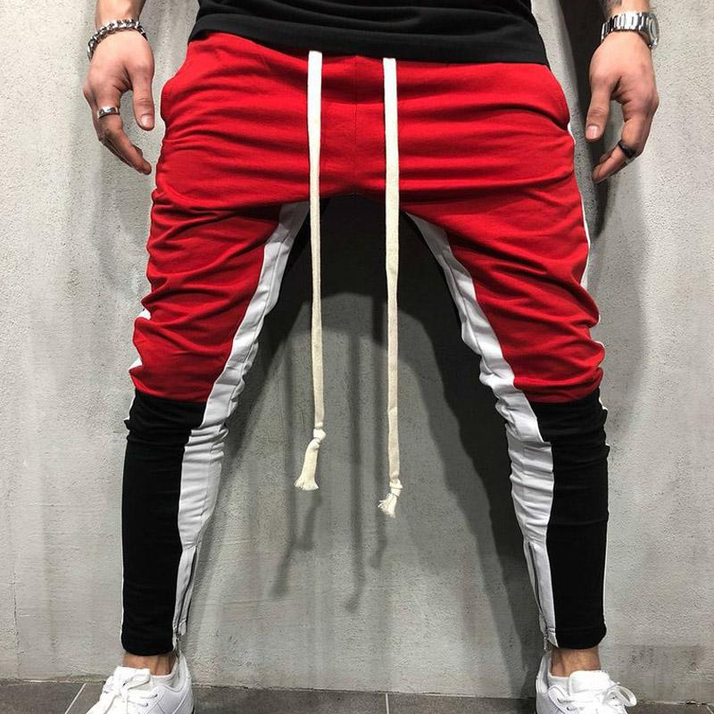 Casual Joggingbroek.2019 Personality Sports Pants Hip Hop Elastic Waist Cotton Male