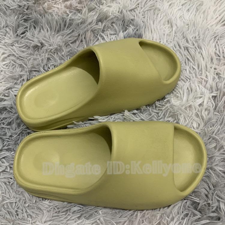 Slipper Sandal 2020 Mais Novo Top Bone Earth Mens 450 Chinelos Corredor De Espuma Kanye Desert Sand Resina Praia Mulheres Homens Slides Chinelo Sandália Sandálias 36-45