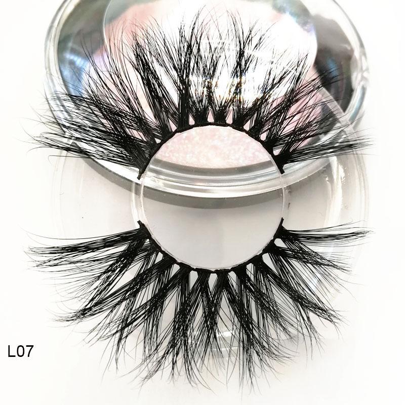 2d31a645153 25mm Long 3D Mink Lashes 100% Mink Eyelashes False Eyelashes 25mm 5D Mink  Eyelashes Fluffy Natural Length 25mm Makeup 6D EyeLash Extension Feather  Eyelashes ...