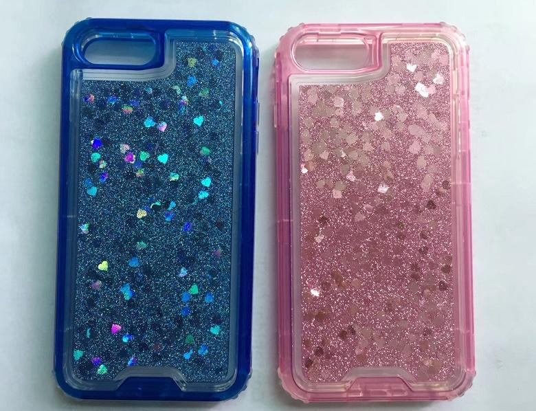 super popular 6c982 2901c Liquid phone case star bling Glitter Floating Quicksand Water Flowing Ultra  Cover Tpu Liquid Glitter Phone Case
