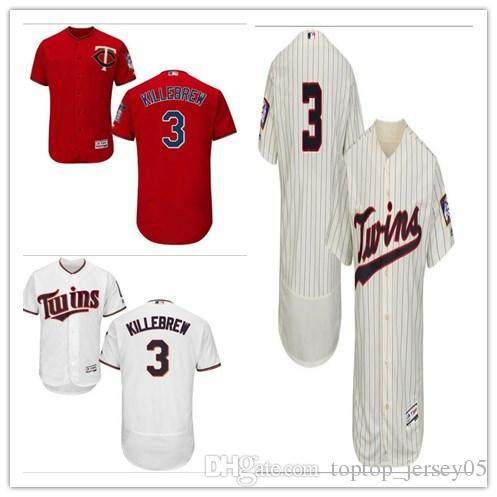 e0d59765ca5 2018 can Minnesota Twins Jerseys #3 Harmon Killebrew Jerseys  men#WOMEN#YOUTH#Men's Baseball Jersey Majestic Stitched Professional  sportswear