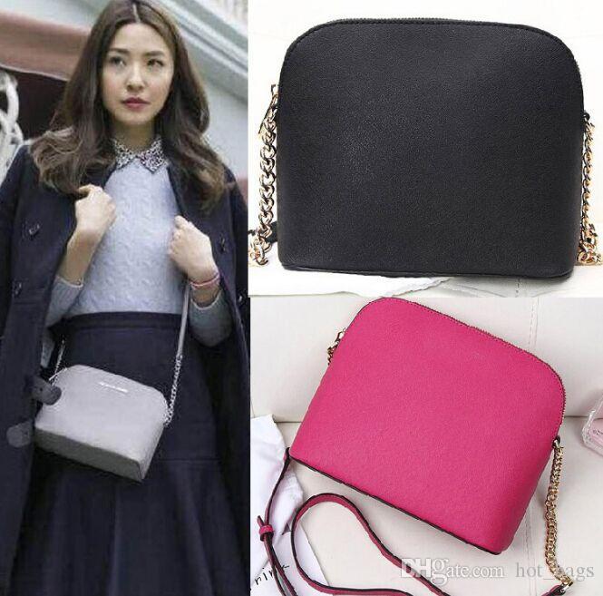 ed8656c912f9 2018 New Chain Shoulder Bag Handbag Korean Version of Sweet Shell ...