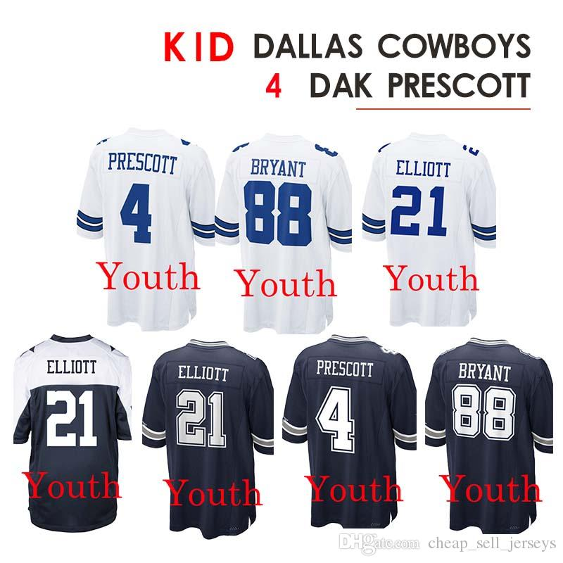 fce6f541c24 2019 Kid 4 Dak Prescott Jerseys 88 Dez Bryant Jersey 21 Ezekiel Elliott  Rugby From Cheap_sell_jerseys, $23.5 | DHgate.Com