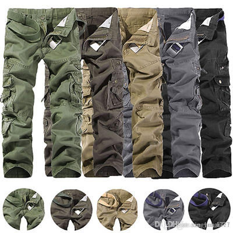 Surplus Premium Deluxe Mens Combat Cargo Trousers Camo Army Military Work  Pants Hiking Pants Sweatpants Work Pants Online with  32.18 Piece on ... 47dc065495