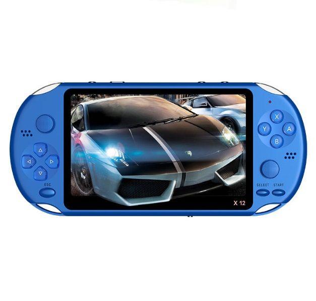X12 Handheld jogador 8GB de memória portátil consoles de videogame com 5.1