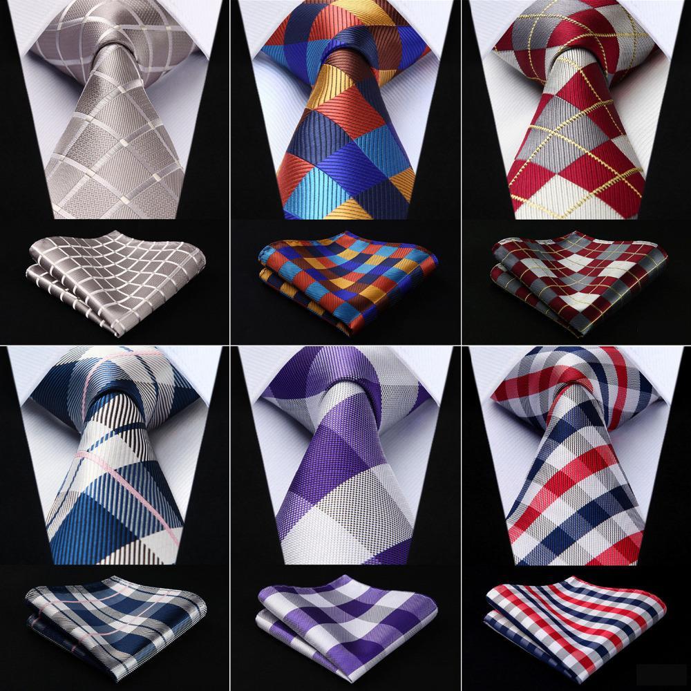 7dc19d7e3e04c Men Extra Long Tie Check 3.4