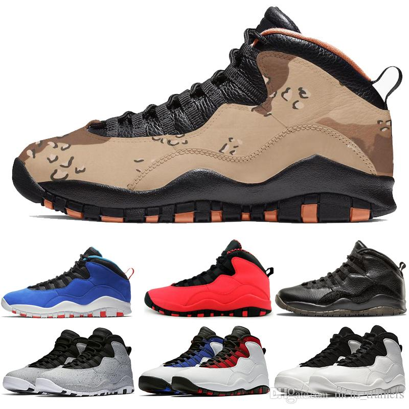 987a0dd16dfc New 10s Desert Camo Mens Basketball Shoes Luxury Tinker Cement I M Back  Westbrook GS Fusion Red Steel Grey Cool Grey Trainer Runner Sneakers  Sneakers For ...