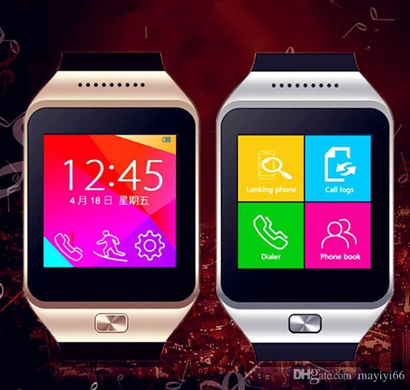 978f2b3ac Smartwatch Latest DZ09 Bluetooth Smart Watch With SIM Card For Apple  Samsung IOS Android Cell Phone 1.56 Inch Free DHL Swap Smart Watch The Smart  Watch From ...