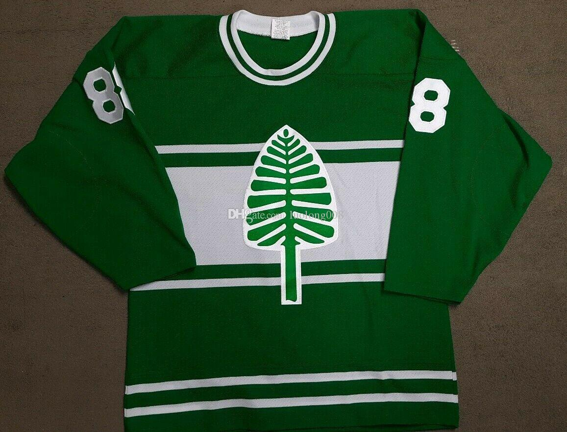 newest a95a2 54b74 Dartmouth College Hockey Jersey Big Green Pine Tree Hockey Jersey  Embroidery Customize any name