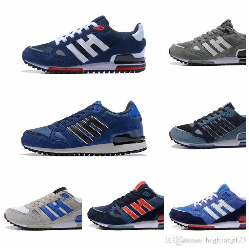 adidas ZX 750 ZX750 Chaussures de course Designer Sneakers zx 750 Hommes Femmes Blanc Rouge Bleu Respirant Athlétique Sports de Plein Air Jogging