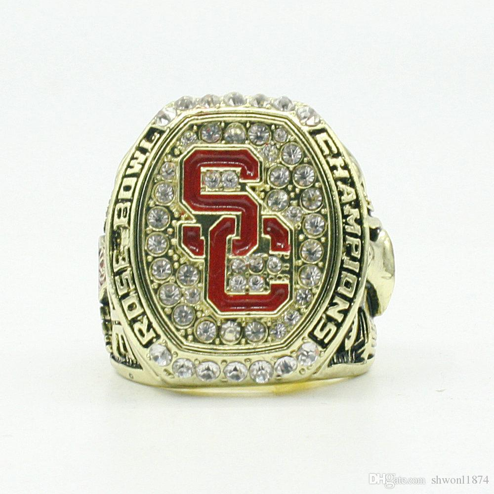2016 2017 USC Trojans (Crene) Rose Bowl College Football Championship ring