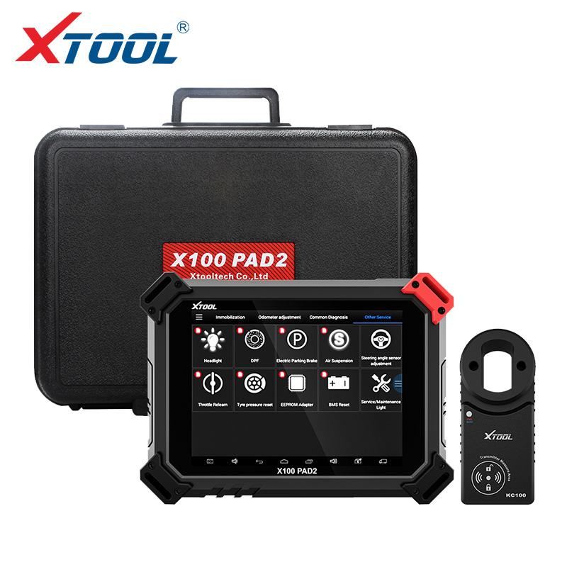 X100 PAD2 Pro Professional OBD2 Car Diagnostic Tool with key programmer For VW 4th 5th Immobilizer and Odometer adjustment
