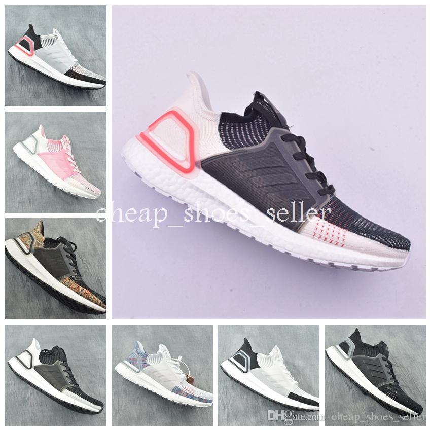 2846a5e5e 2019 UltraBoost 19 Men Women Running Shoes Ultraboost 5.0 Laser Red Dark  Pixel Core Black Ultraboosts Trainer Sport Sneaker Size 5 12 Canada 2019  From ...