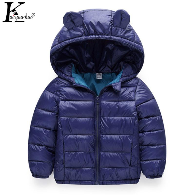 2e283e64bd1c 2018 Winter Boys Coats Warm Down Jackets For Girls Clothes Cotton ...