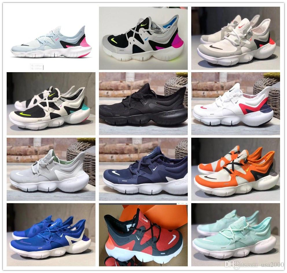 2019 new Nike Free RN 5.0 running shoes for man women Male Fashion Designer  outdoor 2019 run 5.0 sports sneakers shoe size 36,45
