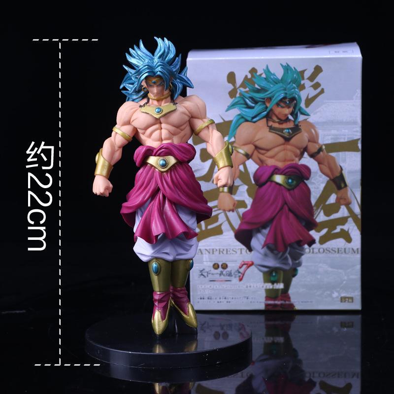 2019 Dragon Ball Z Broli Broly Super Saiyan Anime Figures Christmas Gifts Toys Birthdays Doll New Arrvial Hot Sale PVC From Jokerstore