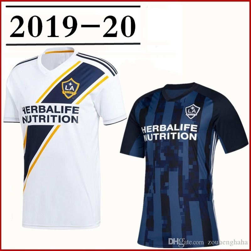 8ea77a3d5fa 2019 2019 20 LA Galaxy Soccer Jersey Home Away IBRAHIMOVIC Los Angeles  Galaxy Away GERRARD GIOVANI BECKHAM DOS SANTOS KAMARA Football Shirts From  ...